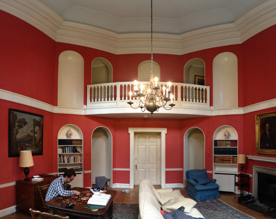 Ingestre Pavilion - Living Space