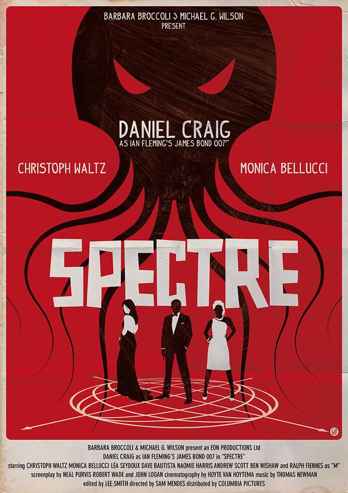 Alain Bossuyt Spectre Poster